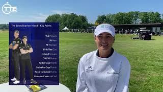 First Ever Scandinavian Mixed European Tour Event with Amy Boulden