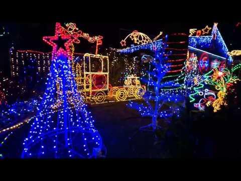 New Zealand. Christmas Lights 2015 (Napier - Hastings)