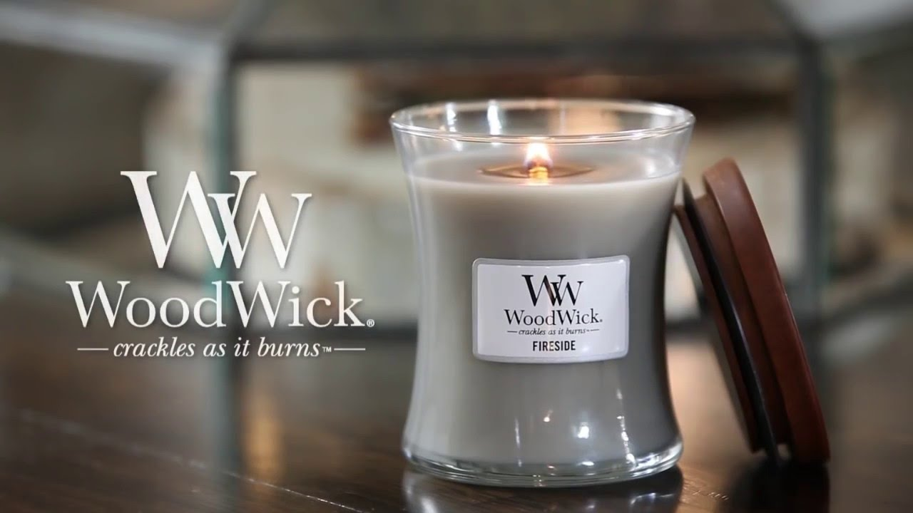WoodWick Candles - Crackles as it Burns OFFICIAL - YouTube