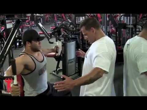 Tyler Cohen training w/ Vinnie Galanti