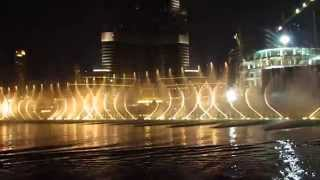 Dubai Dancing Fountains, Enta Omri Show, 15 May 2015
