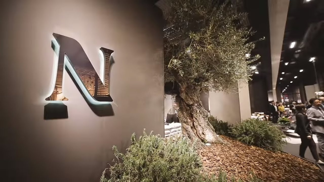Natuzzi at salone del mobile 2016 youtube for Salone del mobile 3018