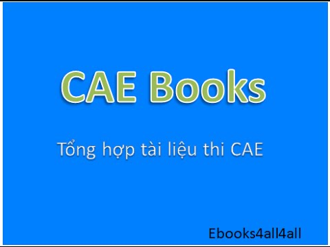 How to download CAE Books