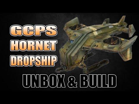 Hornet Drop Ship Unbox & Build Mantic Warpath