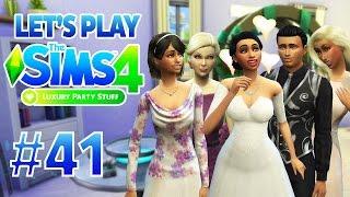 SIMS 4 AU TRAVAIL - Let's Play1 #41 Préparation Soirée de Luxe !