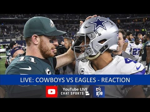 Cowboys Vs. Eagles Live Stream Reaction & Updates On Highlights From Week 14