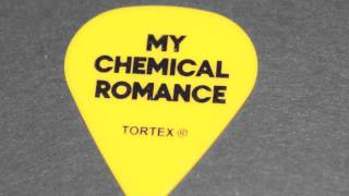Astro Zombies - My Chemical Romance [Misfits Cover] - [Ray Toro Guitar Pick]
