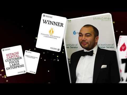 Pension Insurance Corporation - Winner of Hitachi Capital Customer Focus – Large enterprise Award