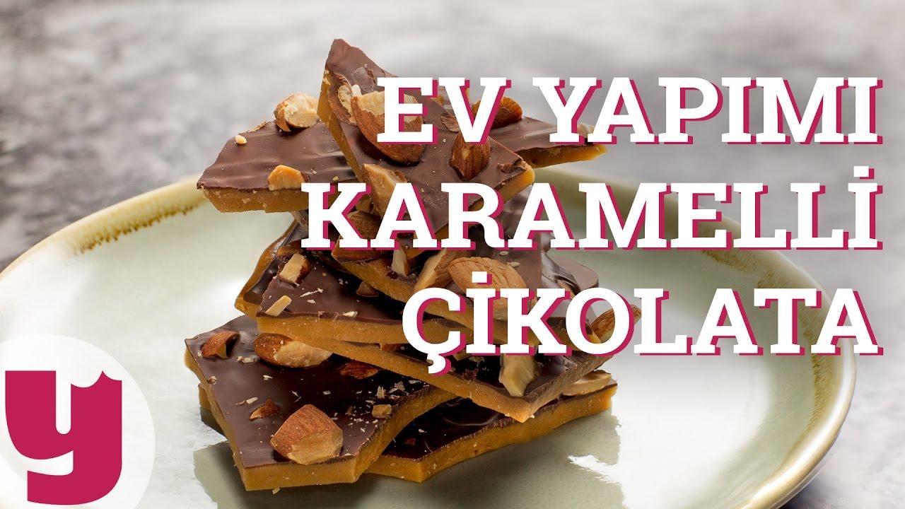 Evde Bitter Çikolata Yapılışı Video