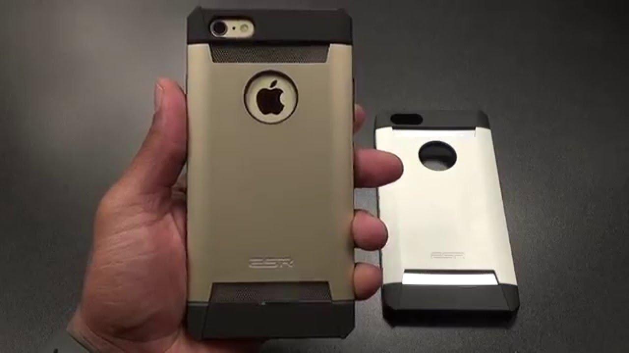 4db5d155afc iPhone 6S Plus ESR Defenders Case - YouTube