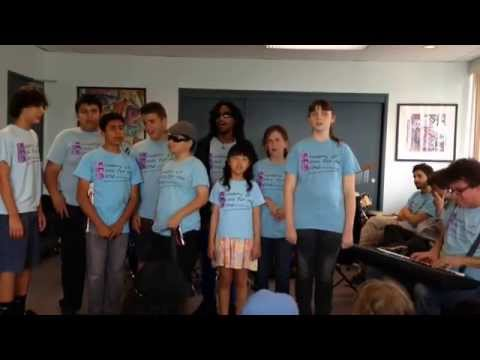 AMB Choir led by Jeff Paris at Academy of Music for the Blind