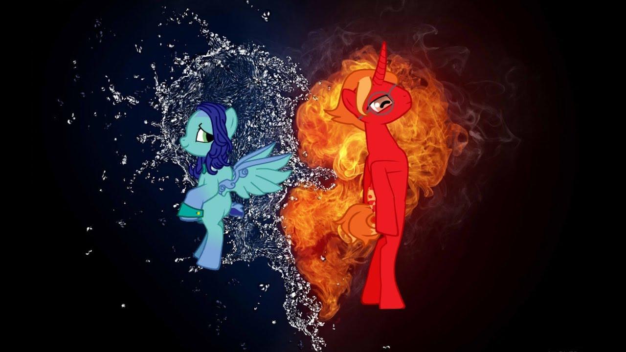 картинки пони огня и воды правило, всех