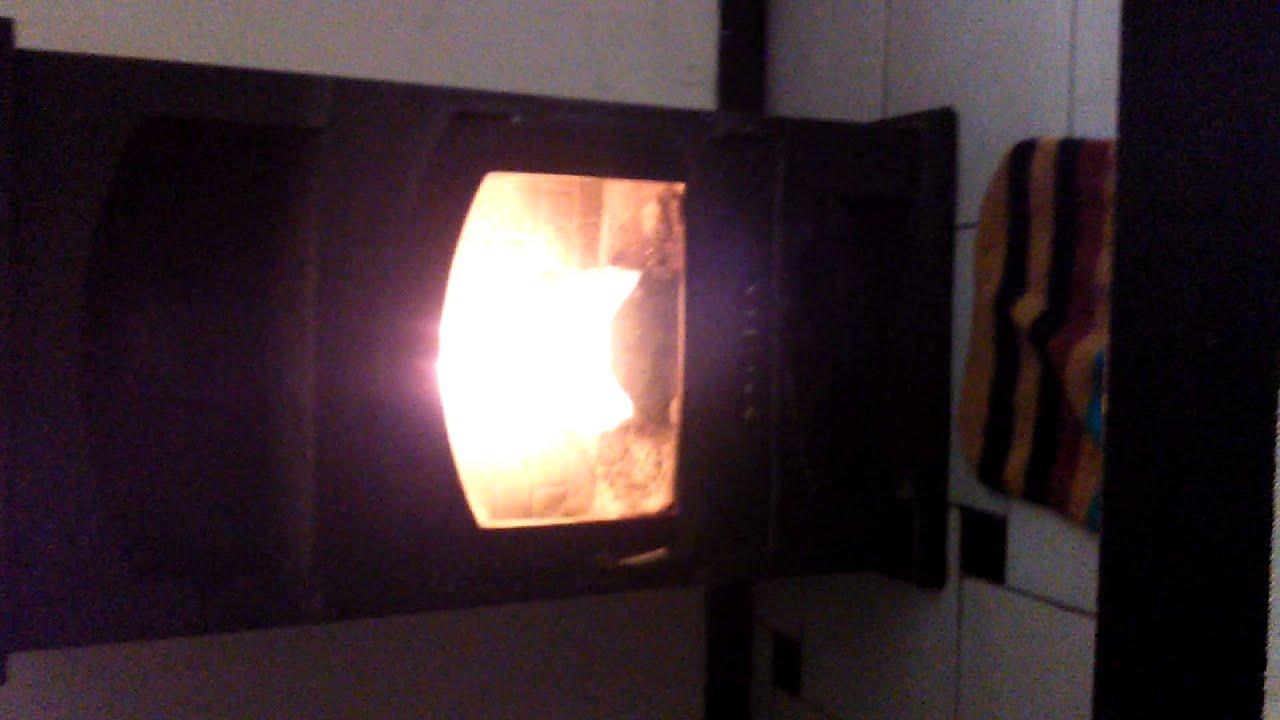 Transformacion de estufa de le a tradicional a hueso de - Estufa de hueso de aceituna ...