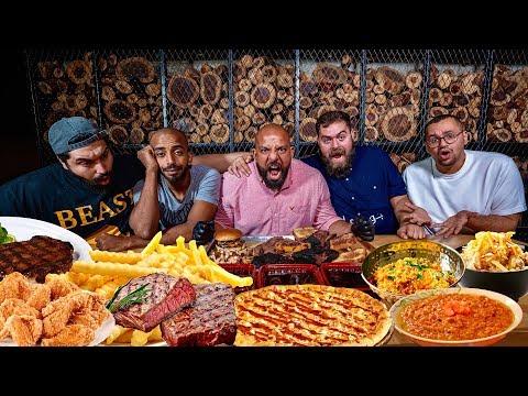 يوم كامل اكل مع باسل الحاج 🍽 Full Day of Eating With Basil Al Hajj