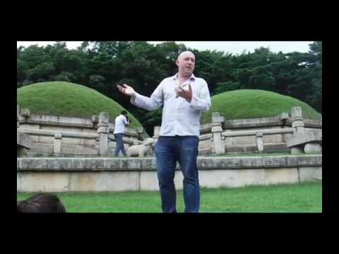 DPRK Trip - Tomb of King Kongmin,  Bus Karaoke -  Part 26