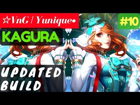 Updated Build [Rank 16 Kagura] | ☆VnG | Yunique• Kagura Gameplay and Build #10 Mobile Legends