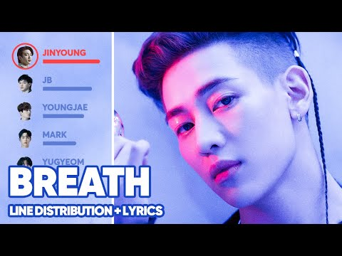 GOT7 - Breath (Line Distribution + Lyrics Color Coded) PATREON REQUESTED