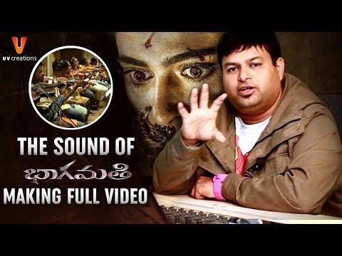 Making of Sound of Bhaagamathie | Anushka | Thaman S | Unni Mukundan | #Bhaagamathie | UV Creations