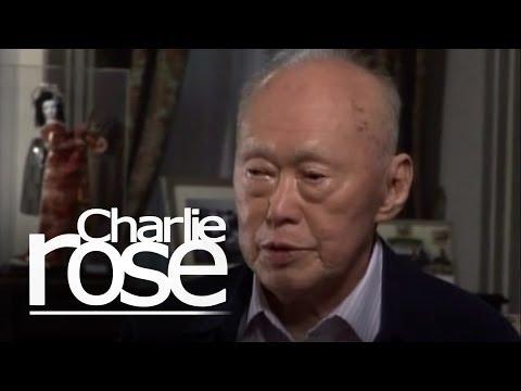 Lee Kuan Yew on the Arab Spring (Mar. 28, 2011) | Charlie Rose