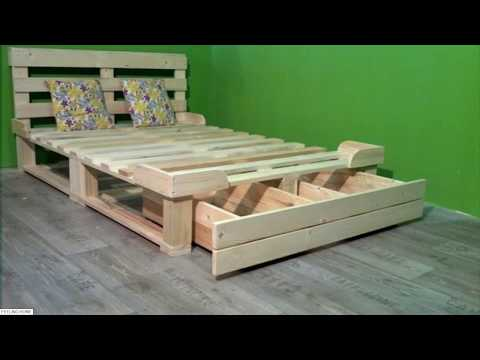 ☑️ Top 80 Creative DIY Pallet Furniture Ideas 2018 - Cheap Recycled Pallet - Chair Bed Table Sofa