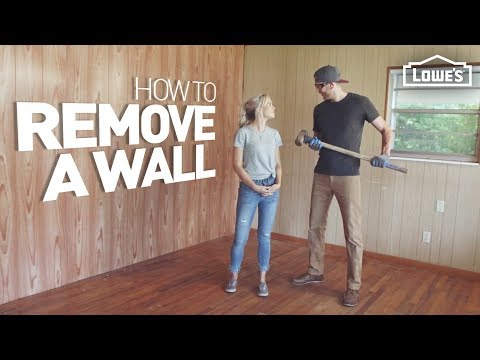 How to Demo and Remove a Wall