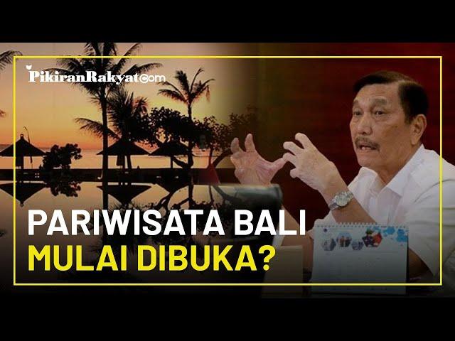 Modal PPKM yang Diklaim Efektif, Luhut Gulirkan Rencana Pariwisata Bali Mulai Dibuka