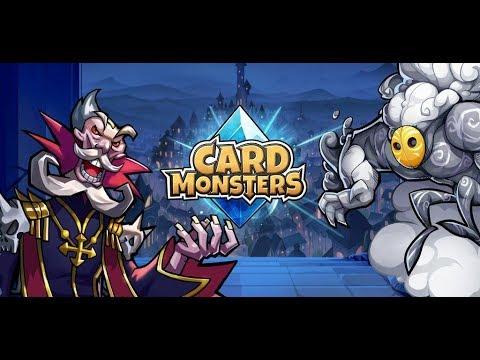"""""""Card Monsters"""" Первый запуск Посиделки на час  Арена+Открываем карты"""
