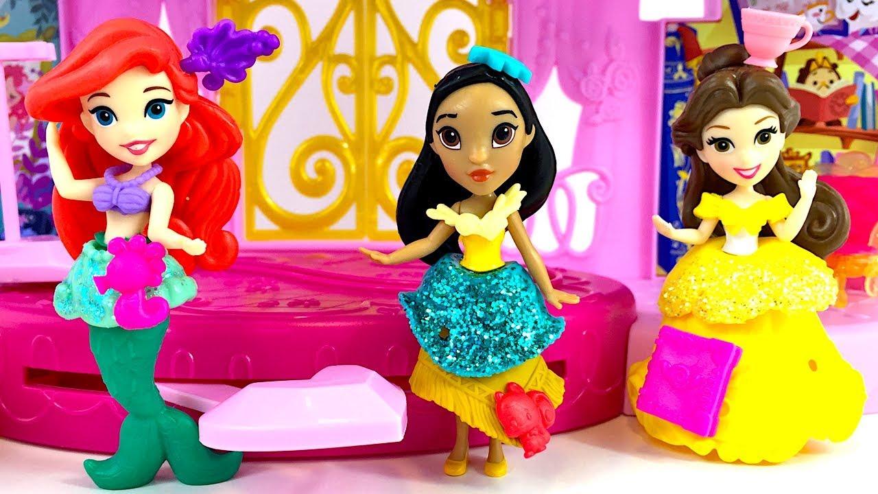 Colectie Printesele Disney Cu Alba Ca Zapada Ariel Mulan Cenusareasa