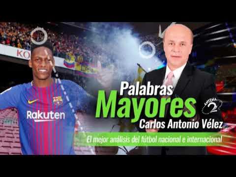 Palabras Mayores - Yerry Mina se fue porque oportunidades con Barcelona solo se dan una vez