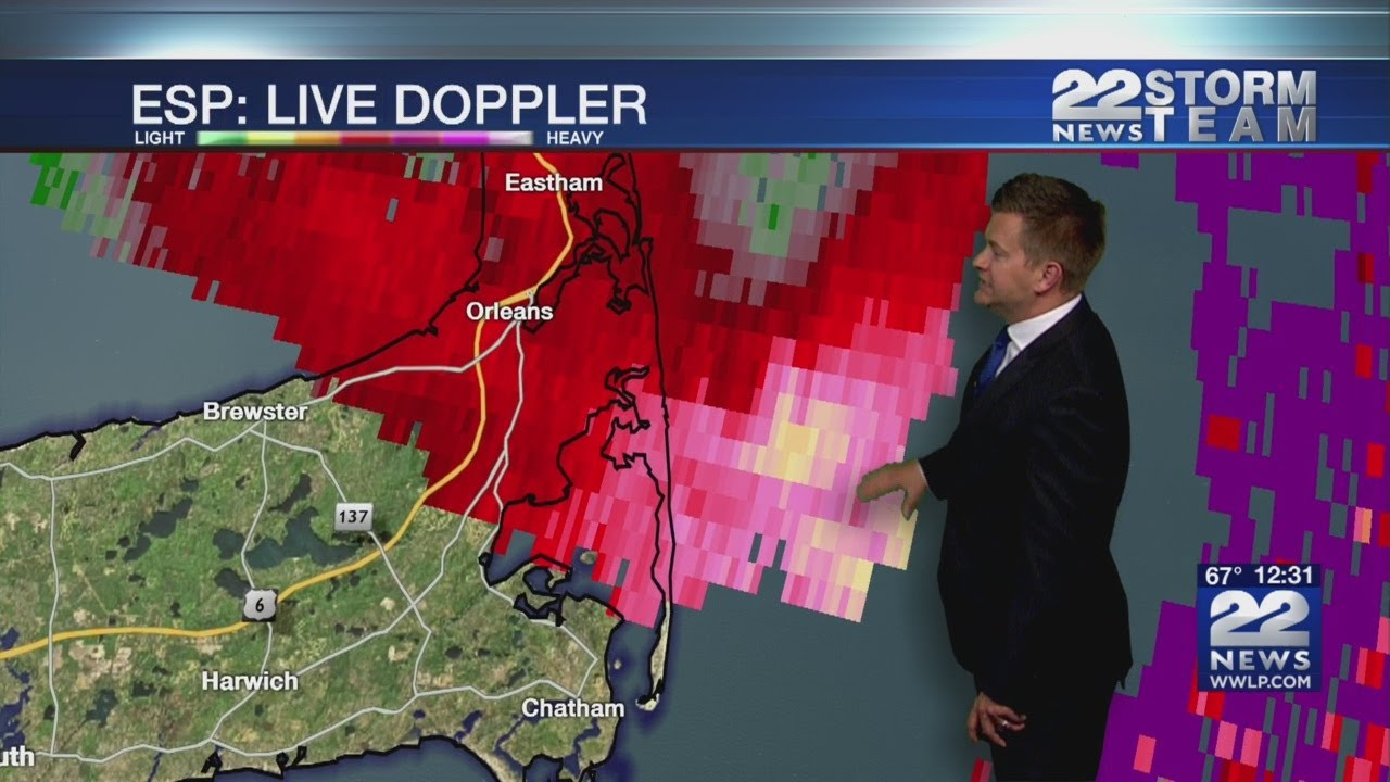 Tornado touched down on Cape Cod