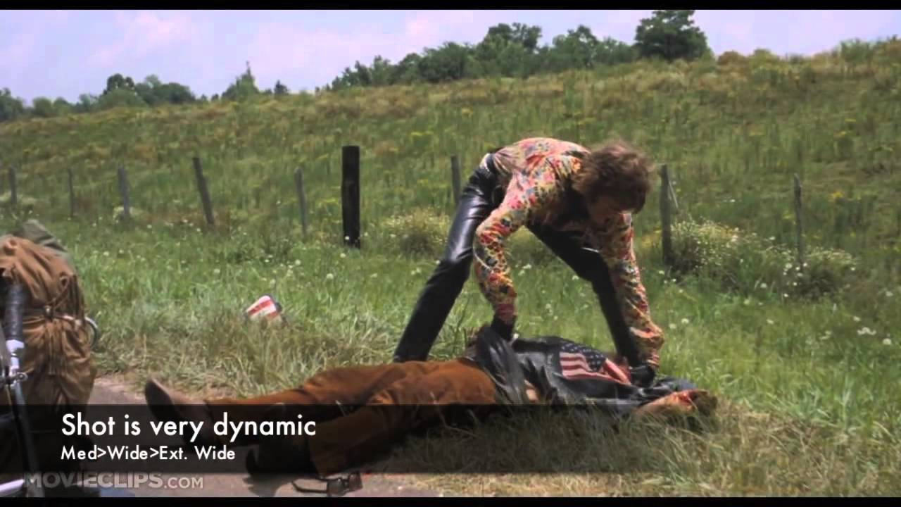 an analysis of easy rider Iconic 1969 road-trip movie with violence, drugs, sex read common sense media's easy rider review, age rating, and parents guide.