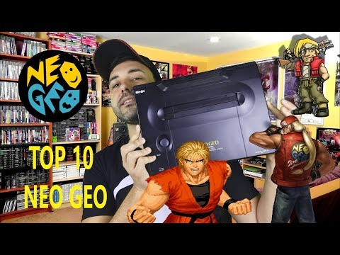 TOP 10 NEO GEO - OS MELHORES JOGOS DO CONSOLE