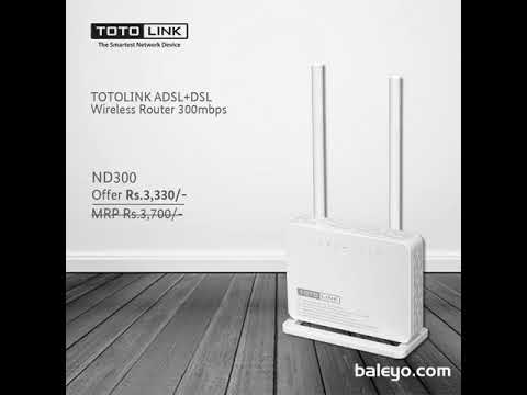 TOTOLINK BRAND ADSL AND DSL Routers 2