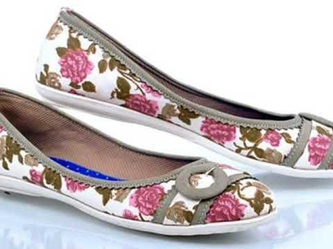 Model sepatu wanita flat - YouTube 14c6b6a3dd