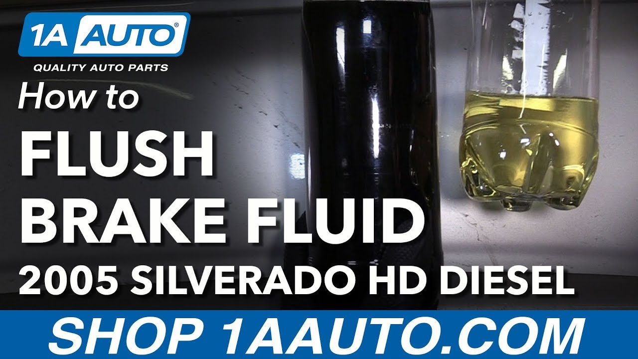 How to Flush Brake Fluid System 00-06 Chevy Silverado 2500 ...