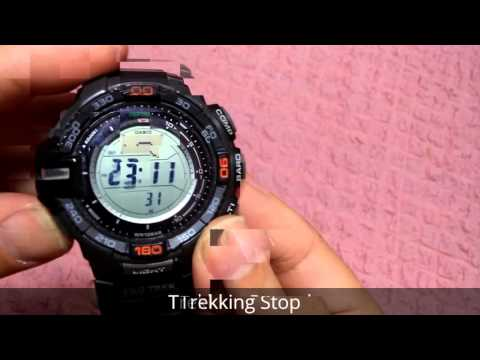 Casio Protrek Rpg 270 , Modul 3415, Trekking Function