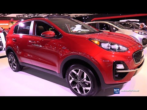 2020 KIA Sportage EX AWD - Exterior And Interior Walkaround - 2019 New York Auto Show