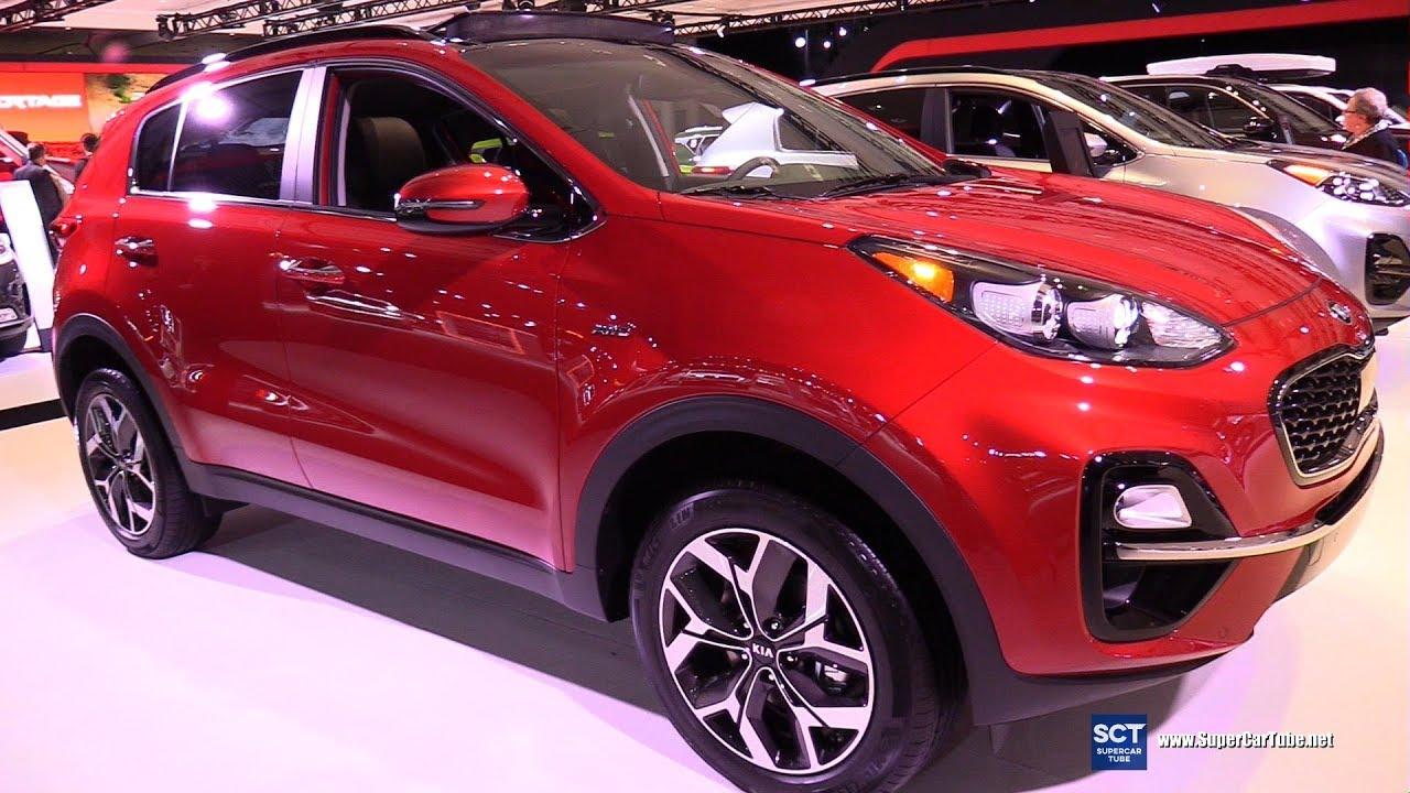 2020 Kia Sportage Ex Awd Exterior And Interior Walkaround 2019 New York Auto Show Youtube