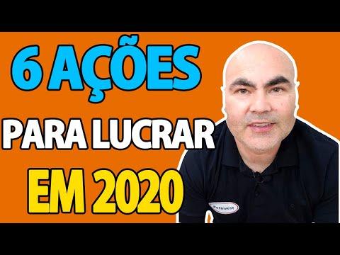 6 AÇÕES TOP PARA GANHAR DINHEIRO EM 2020 | Petinvest
