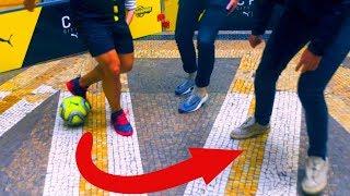 NEW FIFA STREET SKILLS IN REAL LIFE! ★ (New Tricks, Nutmegs, Fast Footwork, Speed ft. SkillTwins)