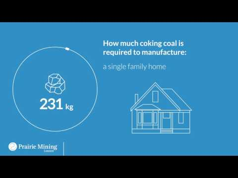 Coking coal in steel production - Prairie Mining Limited