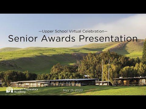 Hawai'i Preparatory Academy: Class of 2020 Senior Awards Presentation
