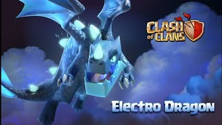 Coc th11 attack only Electro dragon army .