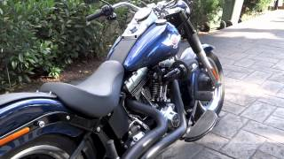 Harley Fat Boy Lo, V&H big radius HD