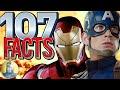 107 Captain America: Civil War Facts YOU Should Know (@Cinematica)