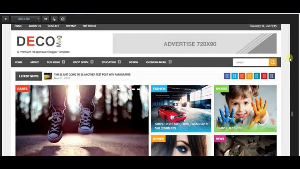 55 best free responsive blogger templates 2015 design webz.