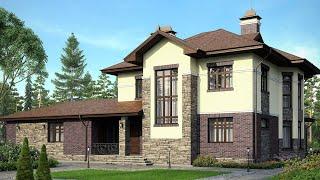 Проект Дома из Газобетона | Проекты домов строительство под ключ М-184