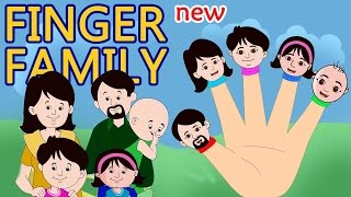 Finger Family For Children Indian Family Cartoon | Funny Indian Family Nursery Rhymes