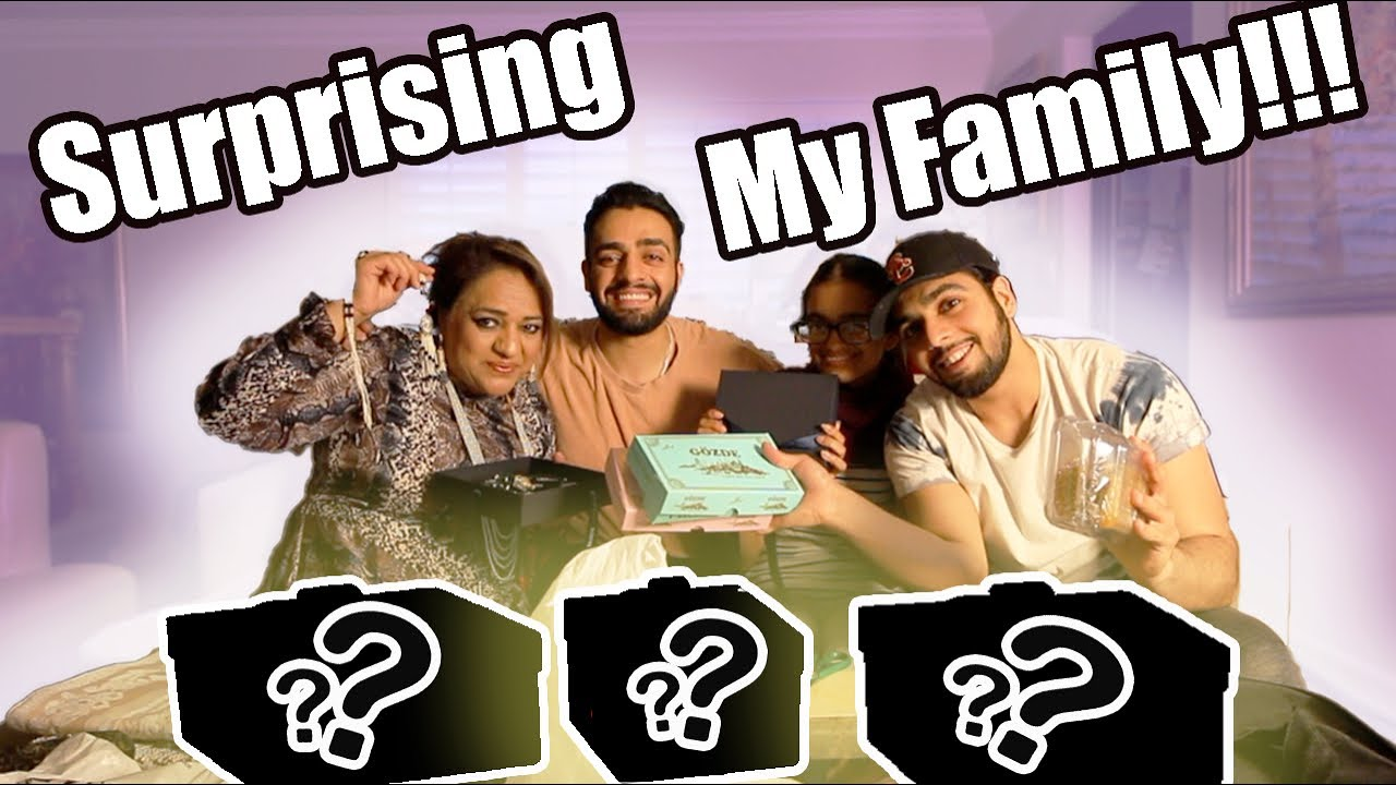 SURPRISING MY FAMILY WITH EXPENSIVE GIFTS FROM MY TRAVELS! (Brown Family)