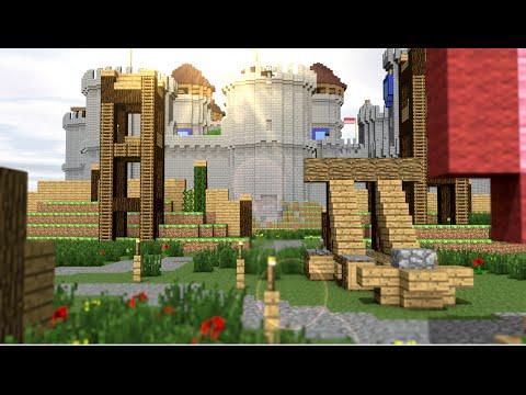 The Battle for Conwy - Contario Castle Trailer   Minecraft